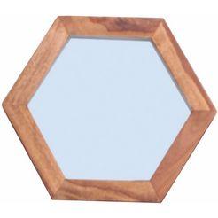 sit spiegel »panama«, breedte 35 cm beige