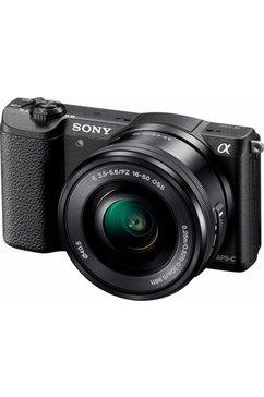 Alpha ILCE5100L-systeemcamera, 16-50 mm zoom, incl tas, 32GB SD-kaart