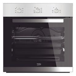 beko inbouw-oven bie22100x zilver