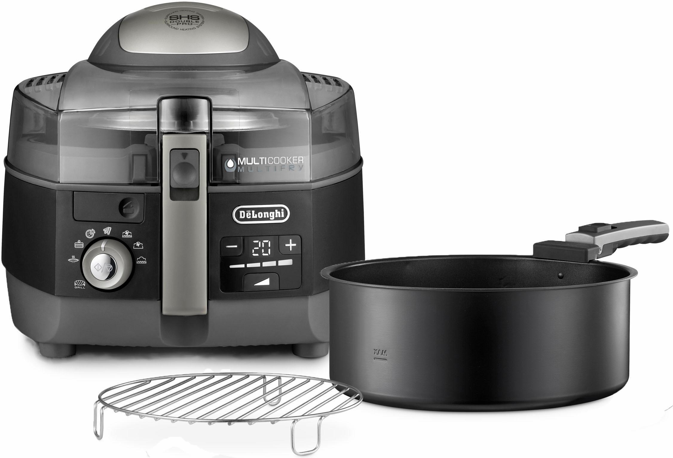 Delonghi heteluchtfriteuse & multicooker MultiFry EXTRA CHEF FH1396/1, zwart in de webshop van OTTO kopen