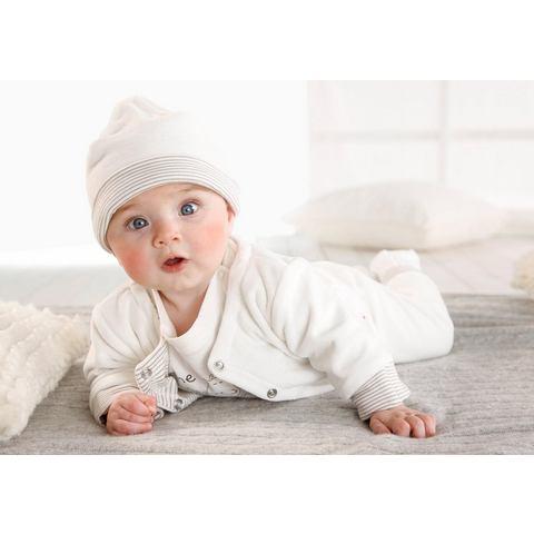 Babyworld shirt met lange mouwen, broek, jack en muts, 4-delige set