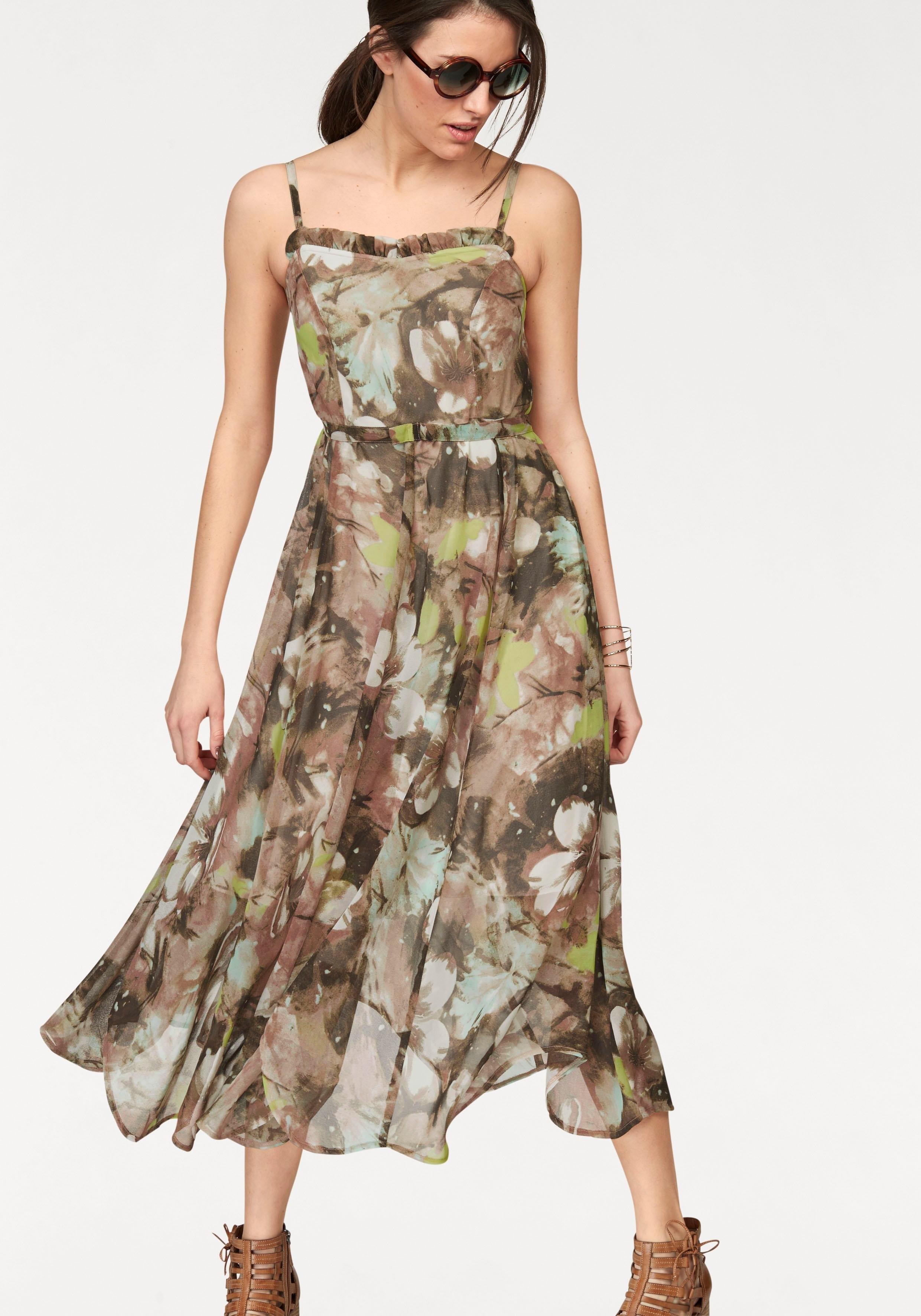 Tamaris jurk met spaghettibandjes - verschillende betaalmethodes