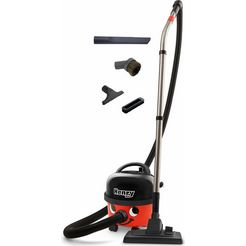 numatic stofzuiger henry hvr160-11 compact, classic red, energieklasse a rood