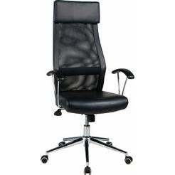 duo collection bureaustoel »thar« zwart