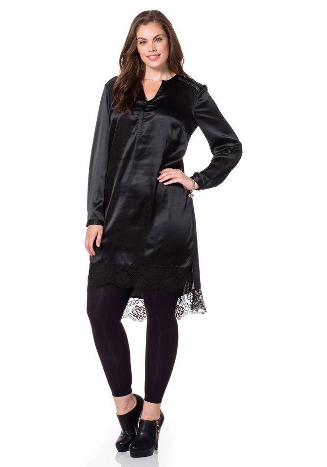 sheego Style Sheego Style tuniekjurk zwart