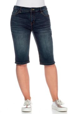 sheego stretch-jeansbermuda