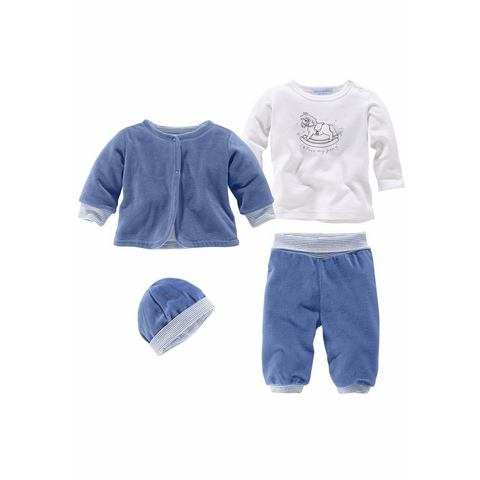 KLITZEKLEIN Nicky-babykleding in 4-delige set