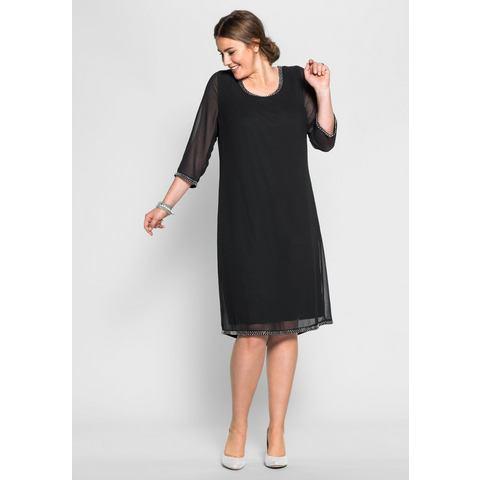 sheego Style geweven jurk