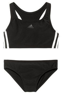 adidas performance bustierbikini in sportief design zwart