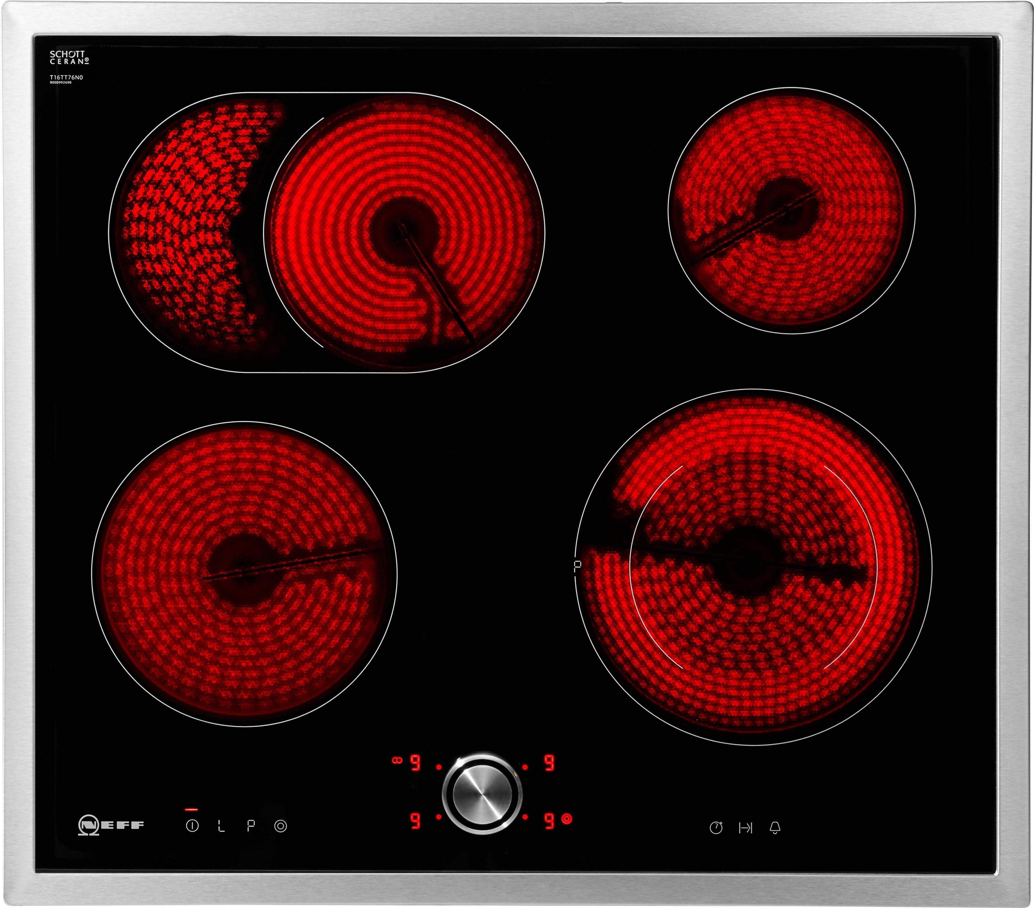 neff elektrische kookplaat met twistpad flat bediening tbt 1676 n t16bt76n0 in de online. Black Bedroom Furniture Sets. Home Design Ideas