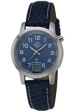 master time radiografisch horloge mtla-10490-32l incl. batterij met lange levensduur blauw