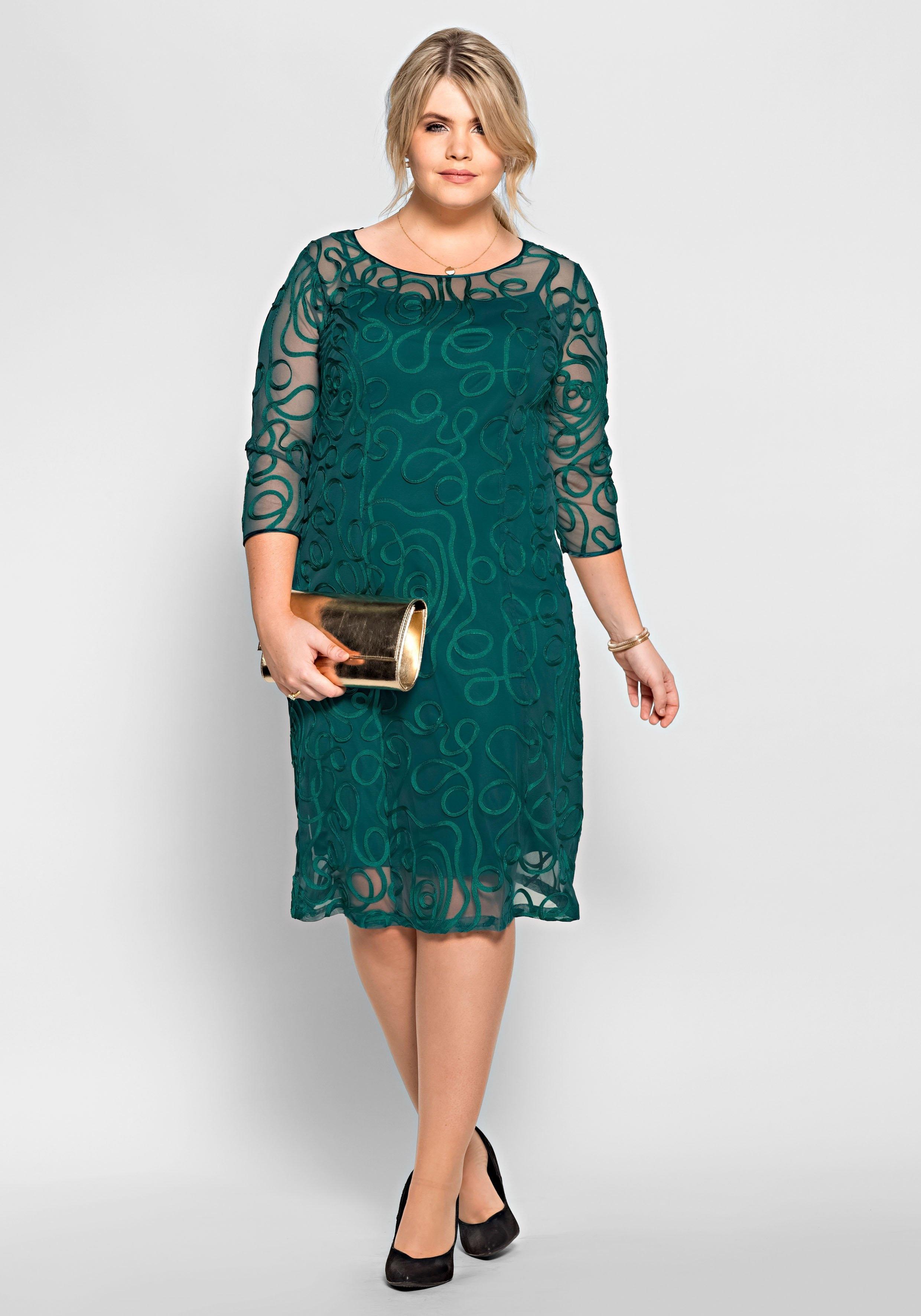 Op zoek naar een Sheego Style Avondjurk met sierranden? Koop online bij OTTO