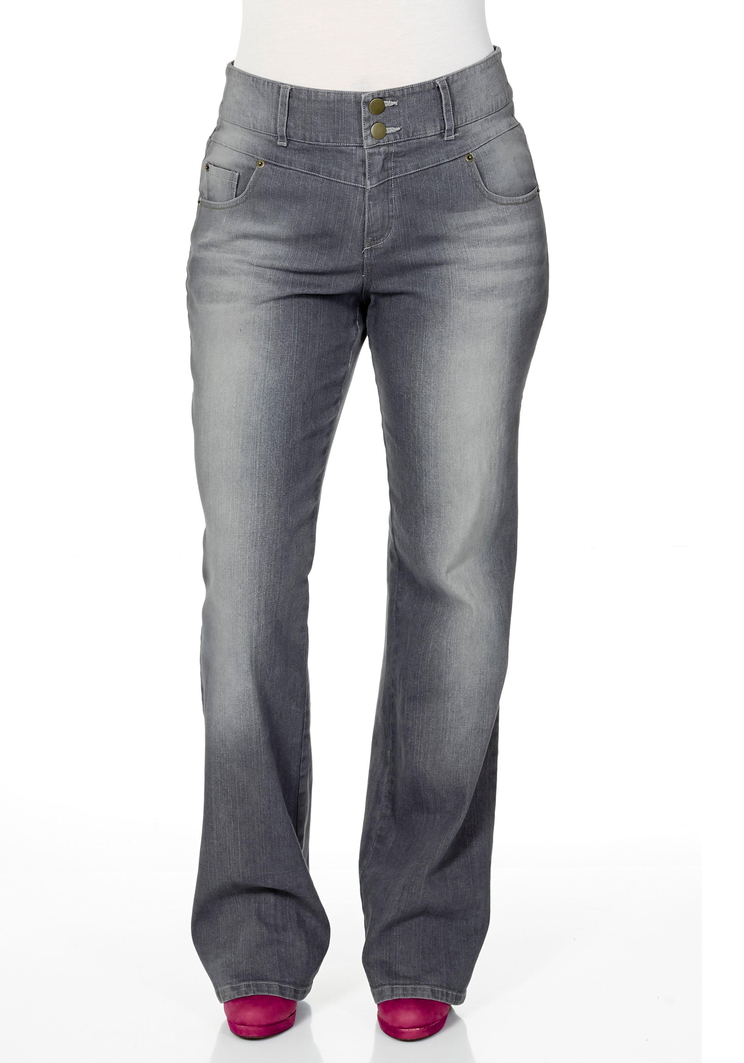 Sheego Denim SHEEGO DENIM jeans �Bootcut� bij OTTO online kopen