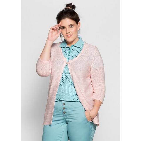 NU 20% KORTING: SHEEGO CASUAL cardigan in open model