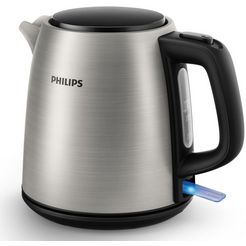 philips waterkoker hd9348-10 daily collection, 1 liter, 2000 w, edelstaal zilver