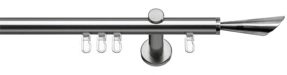 indeko Gordijnroede enkel of dubbel in standaardmaat ø 20 mm, »Siena«, met binnenrail bestellen: 30 dagen bedenktijd