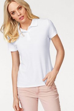 fruit of the loom poloshirt »lady-fit premium polo« wit