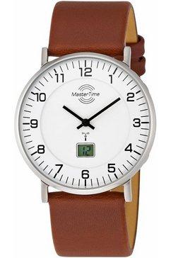 master time radiografisch horloge mtgs-10561-12l incl. batterij met lange levensduur bruin