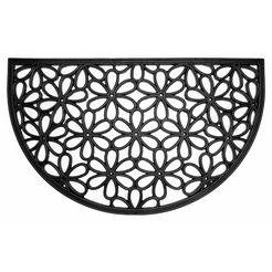 andiamo mat nabucco 1 inloopmat, rubbermat, geschikt voor binnen en buiten zwart
