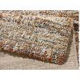mint rugs hoogpolig vloerkleed granite woonkamer bruin