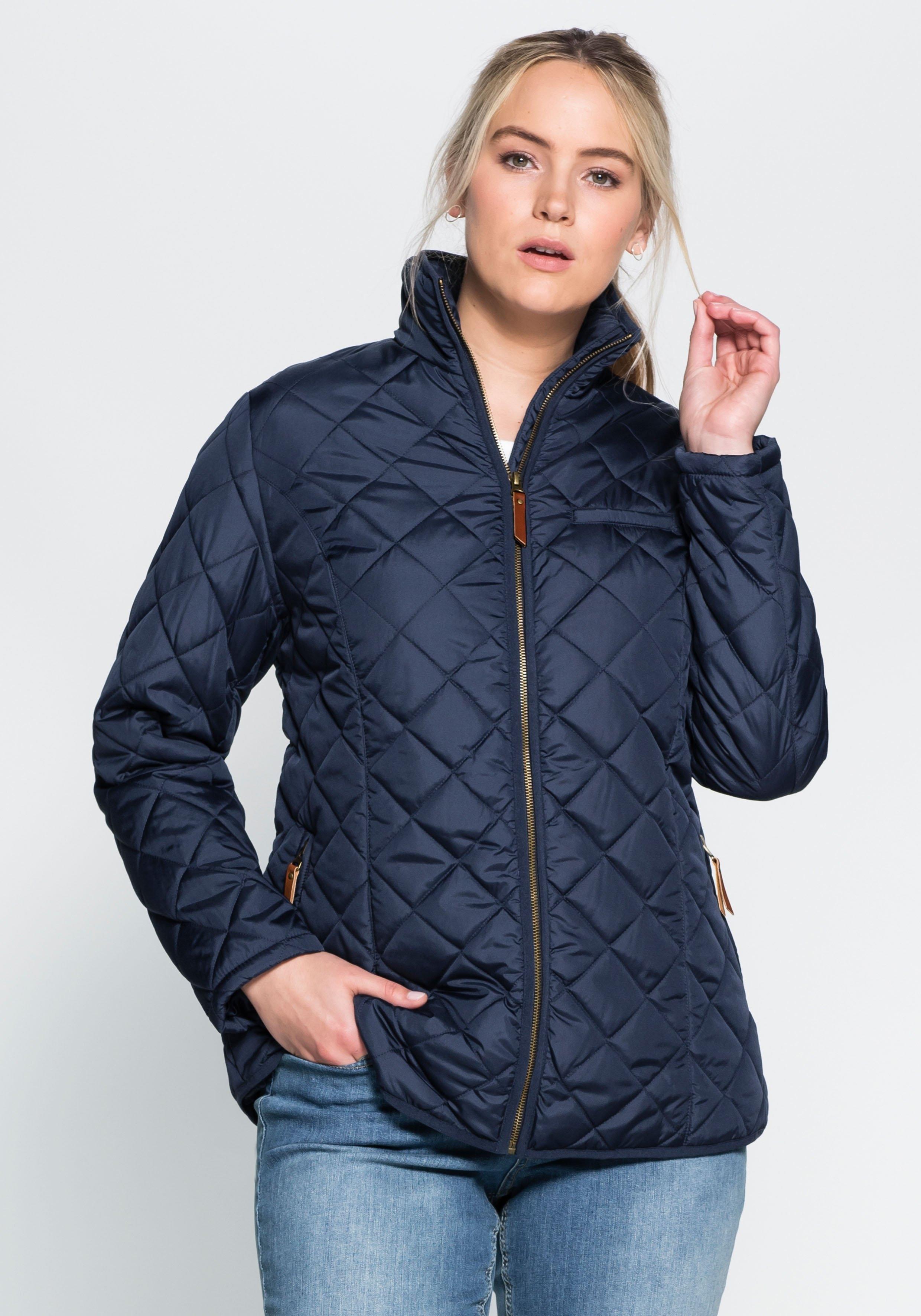Sheego Casual gewatteerde jas nu online kopen bij OTTO