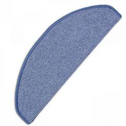tredemat, living line, »torronto«, hoogte 5 mm, geweven blauw