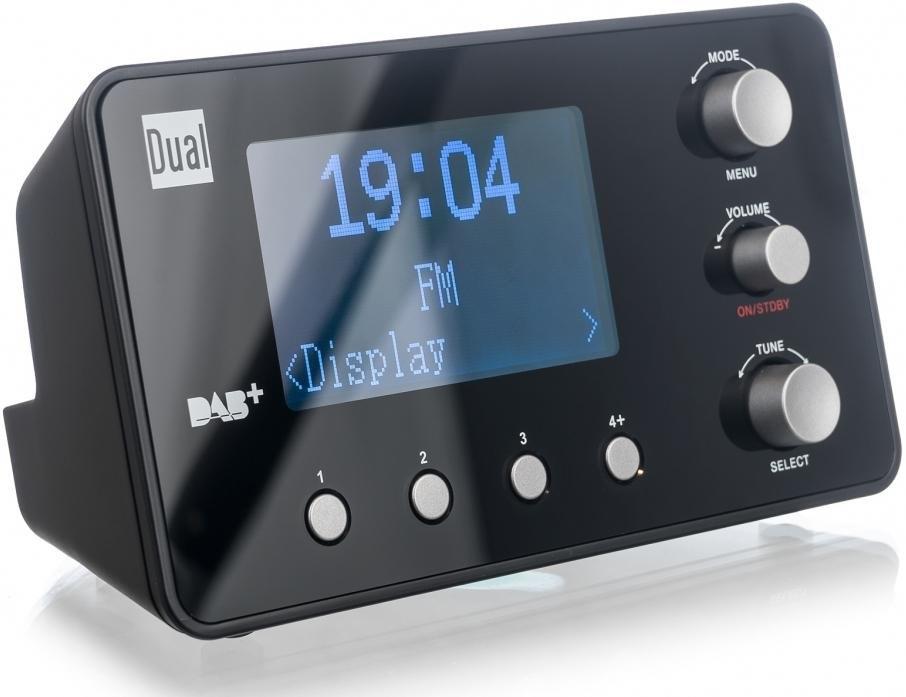 dual dab cr25 1 wekkerradio digitale radio dab fm. Black Bedroom Furniture Sets. Home Design Ideas