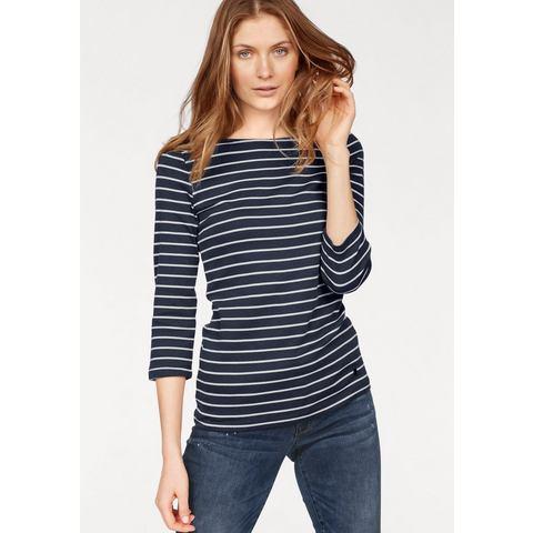TOM TAILOR T-shirt »rib stripe shirt«