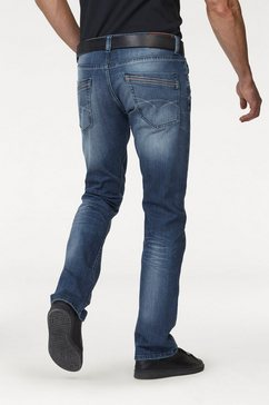 bruno banani straight-fitjeans »dylan« blauw