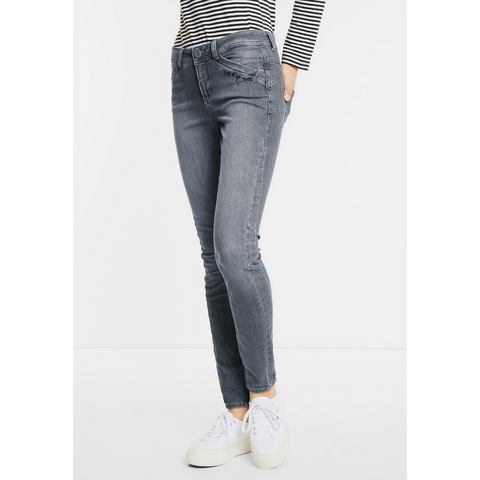 NU 20% KORTING: Street One Grijze casual fit-jeans Emmo