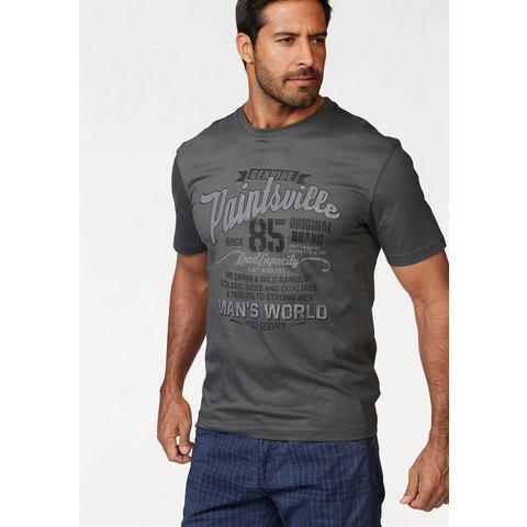 MAN'S WORLD T-shirt met frontprint