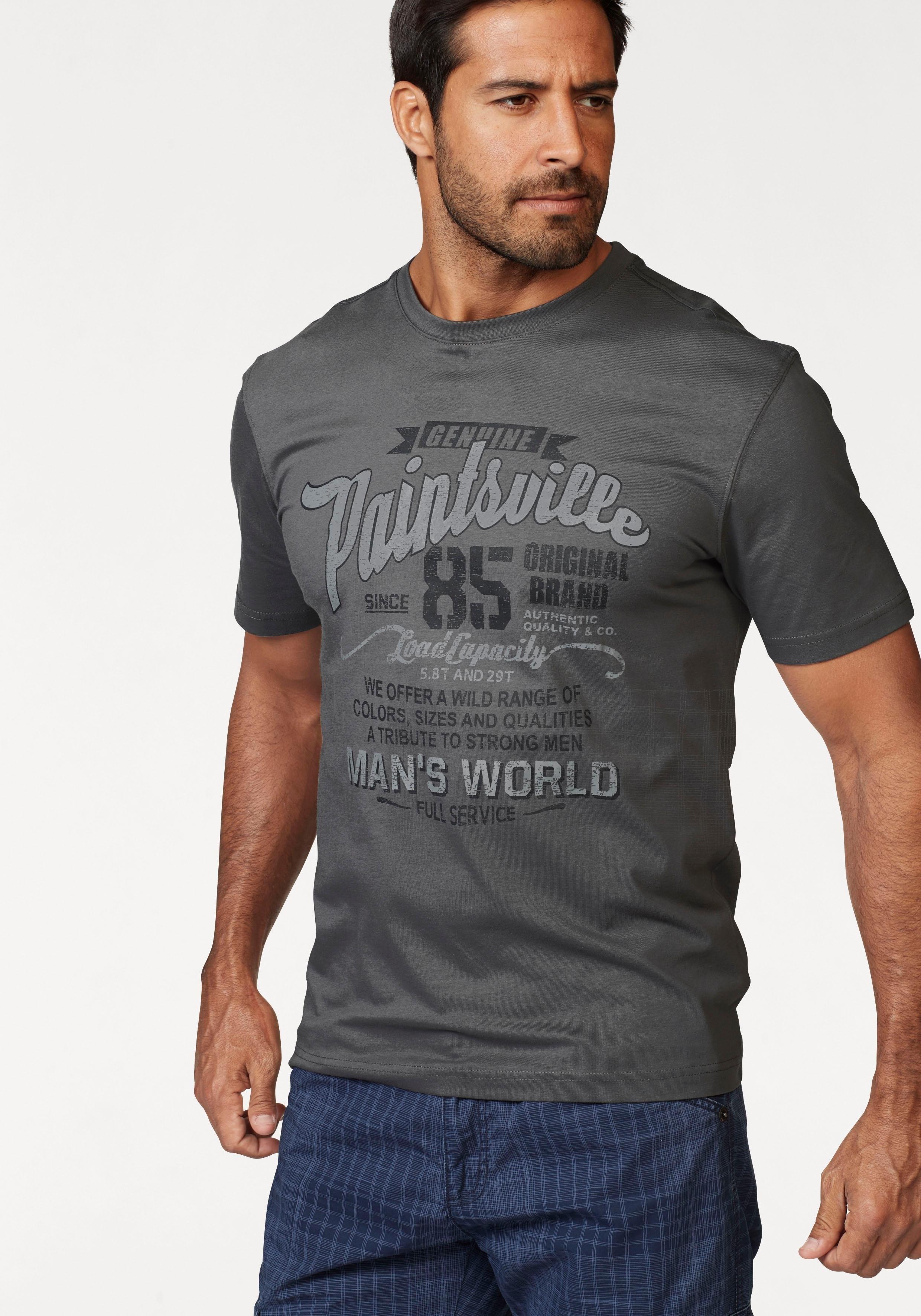 Man's World T-shirt met frontprint in de webshop van OTTO kopen