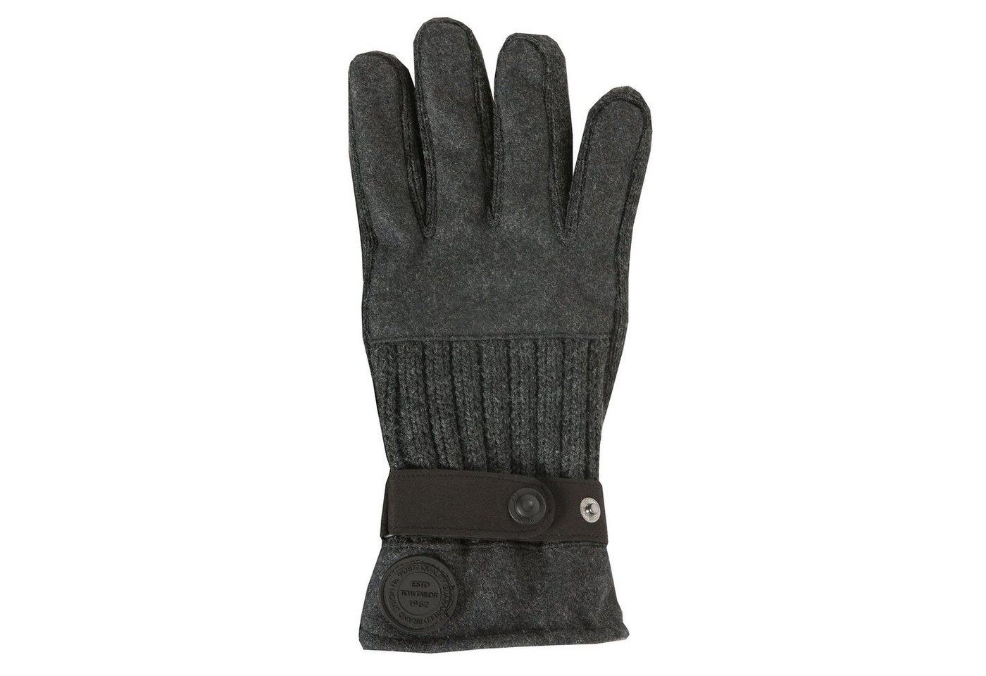 TOM TAILOR Handschoenen »Fleecehandschoenen«
