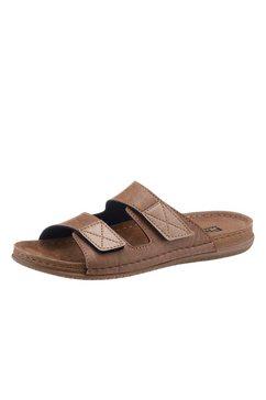 fischer slippers met pu-antislipzool beige