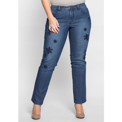 NU 20% KORTING: SHEEGO DENIM stretchjeans