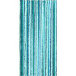 badlaken »combi stripes«, egeria blauw