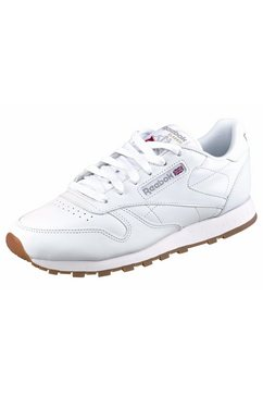 reebok classic sneakers classic leather w wit