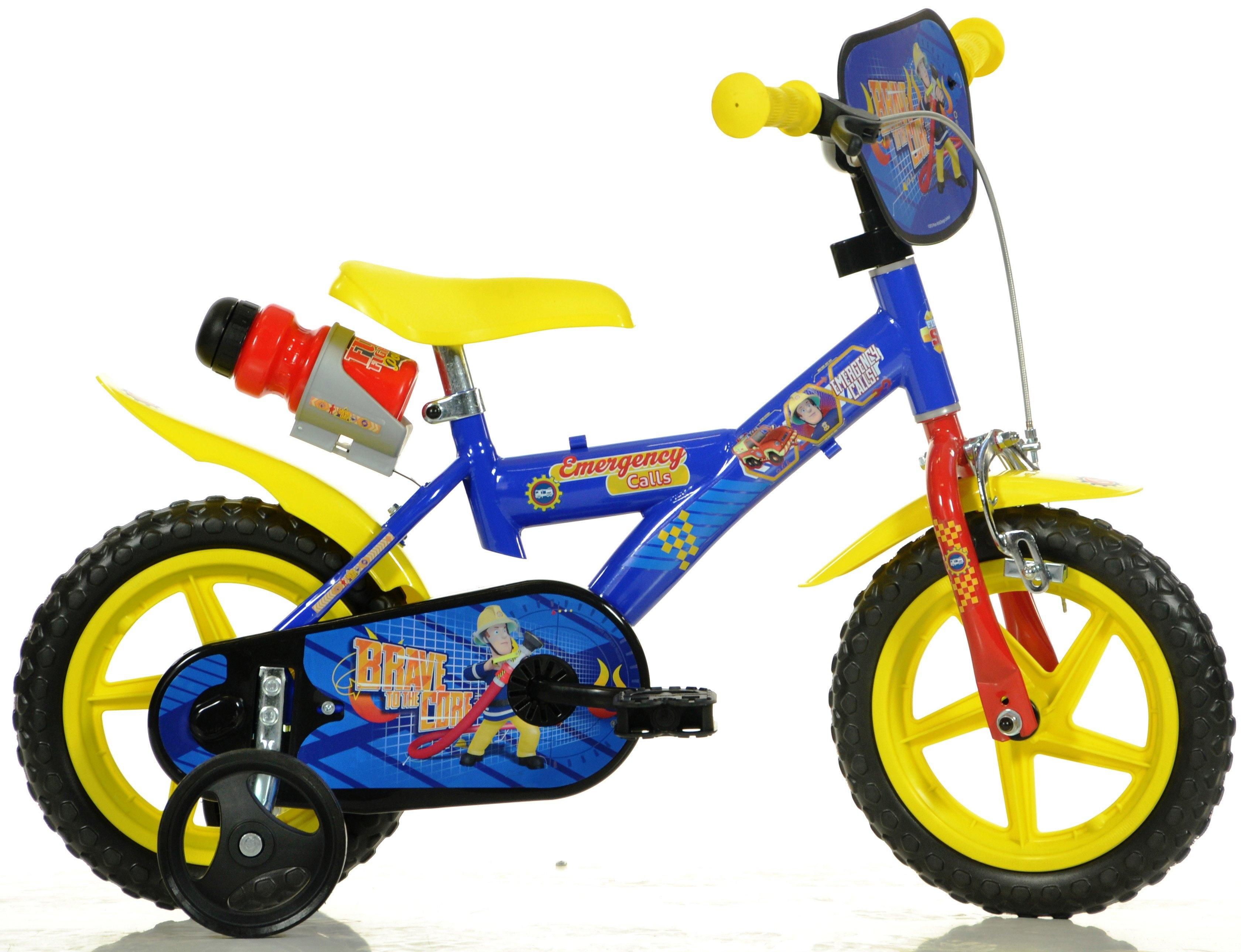 Dino kinderfiets, 12 inch, 1 versnelling, »Fireman Sam« voordelig en veilig online kopen