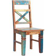 sit stoel riverboat in een set van 2, shabby chic, vintage (set, 2 stuks) multicolor