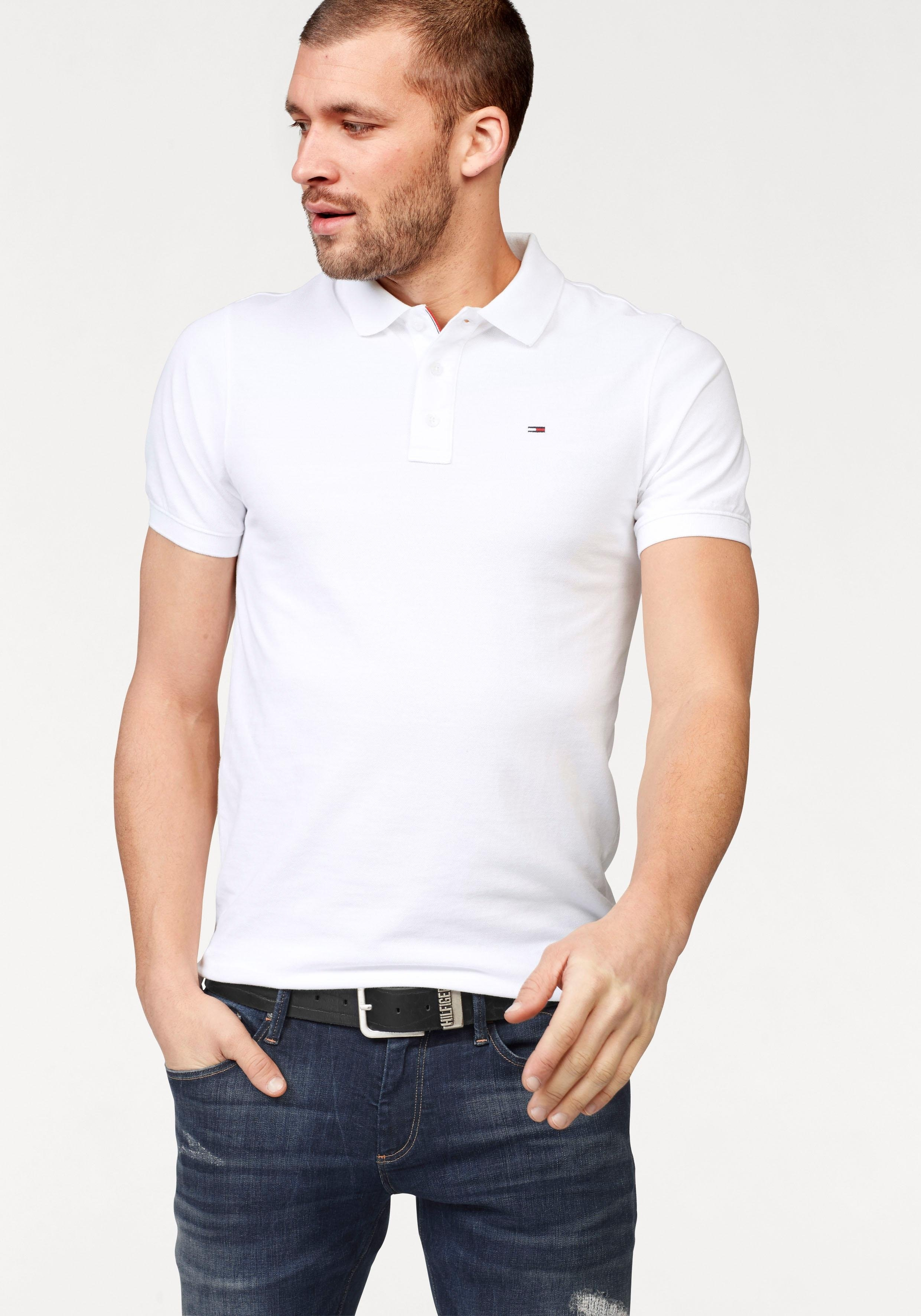 Tommy Jeans poloshirt »THDM BASIC POLO S/S 1« online kopen op otto.nl