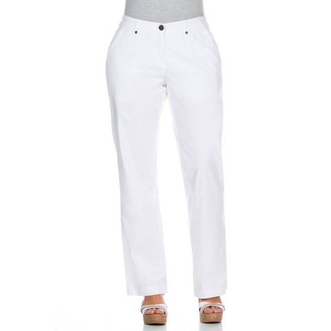NU 15% KORTING: sheego Casual Stretchbroek