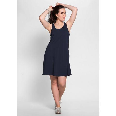 sheego Basic BASIC jurk met brede bandjes,   $( function () {    $(