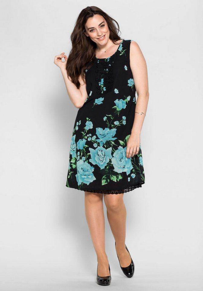sheego Style sheego Style aansluitende jurk multicolor