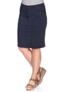 sheego basic sheego casual basic rok blauw