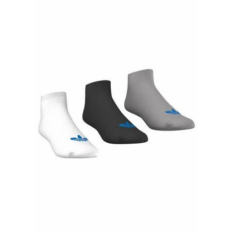 adidas Trefoil Liner Socks White