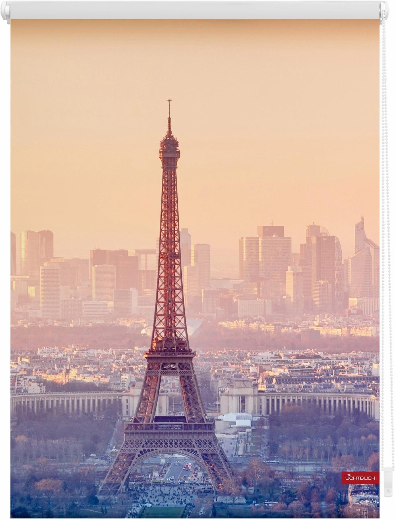 Lichtblick Rolgordijn met zijbediening, »Eiffeltoren«, Klemmfix, kettingbediening, lichtwerend goedkoop op otto.nl kopen