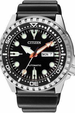 citizen automatisch horloge nh8380-15ee zwart