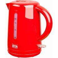 bestron waterkoker awk300hr voor 1,7 liter, 1850-2200 w, rood rood