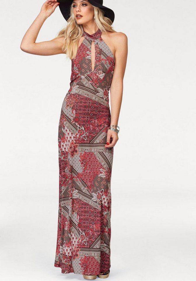 Melrose maxi-jurk multicolor