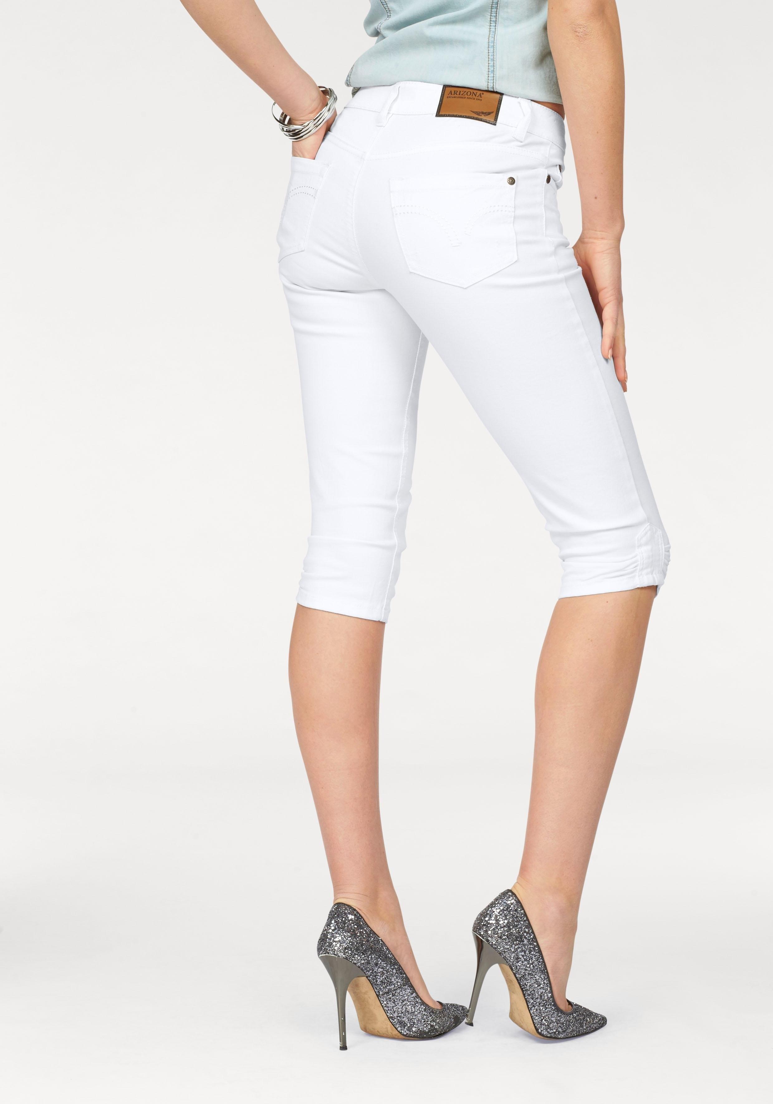 ARIZONA Capri-jeans met aanrimpelingen - gratis ruilen op otto.nl